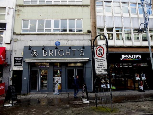 Bright's / Jessop's, Belfast