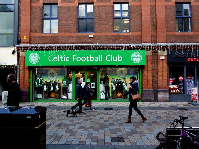 Celtic Football Club store, Belfast