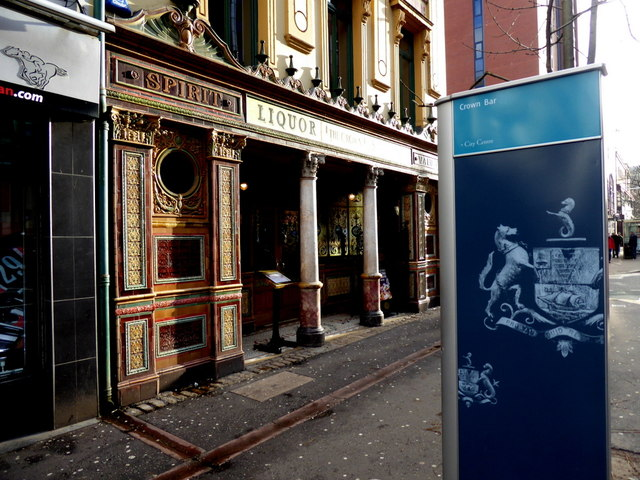 The Crown Bar, Belfast