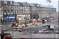 NT2574 : Road works, Picardy Place (2) by Jim Barton