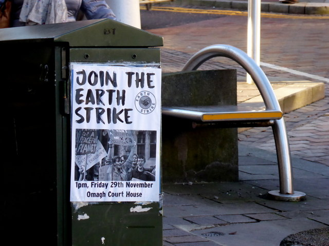 Join the Earth Strike notice