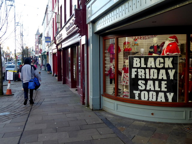Black Friday Sale notice, Omagh