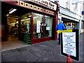 H4572 : Pop up shop, High Street, Omagh by Kenneth  Allen