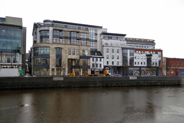 Buildings on Lavitt's Quay, Cork
