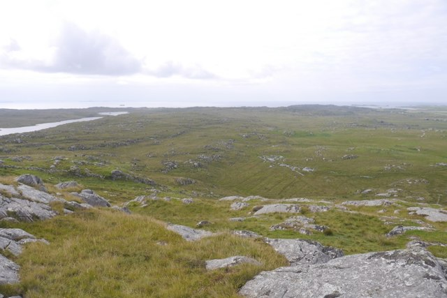 Moorland and rough grazing, Coll