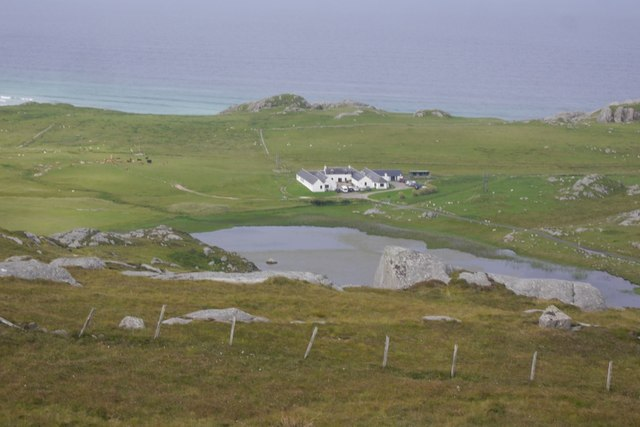 Loch Ballyhaugh and The Hebridean Centre