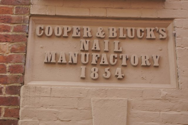 Cooper and Bluck's Nail Manufactory