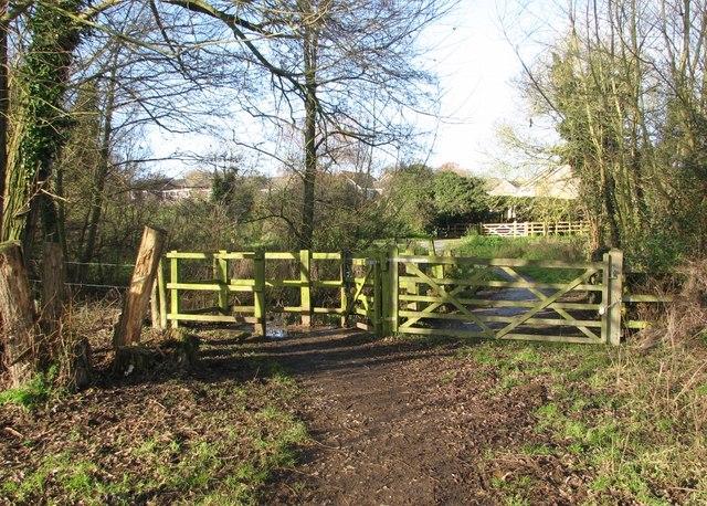 Gates to Marston Lane