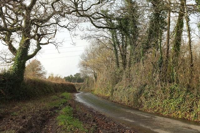 Lane to Avonwick