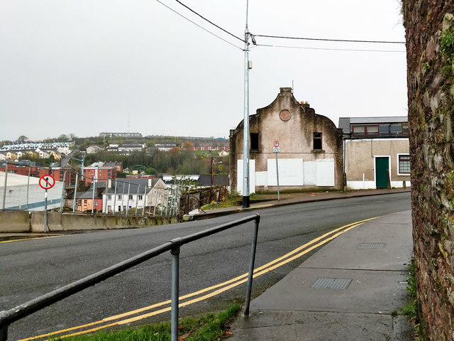 Boarded up building, St Mary's Road, Cork