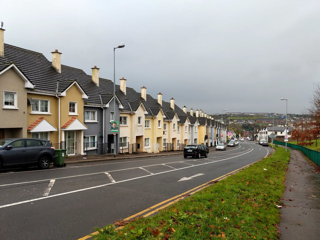 Row of houses, Sunvalley Drive, Cork