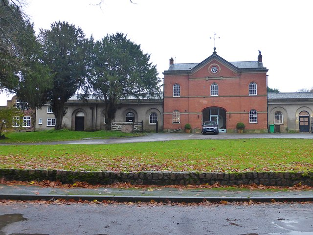 Former stable block of Clifton Hall