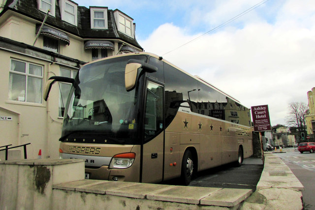 Coach by Abbey Road, Torquay