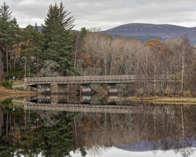 Boat of Insh Bridge