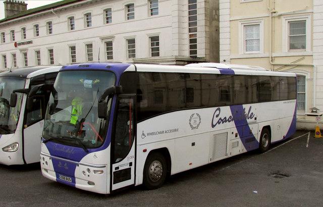 Coach, Majestic Hotel, Torquay
