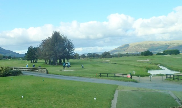 Greenore Golf Course from the R175