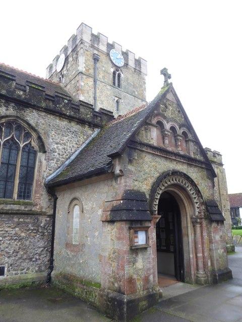 St Peter's Church: porch