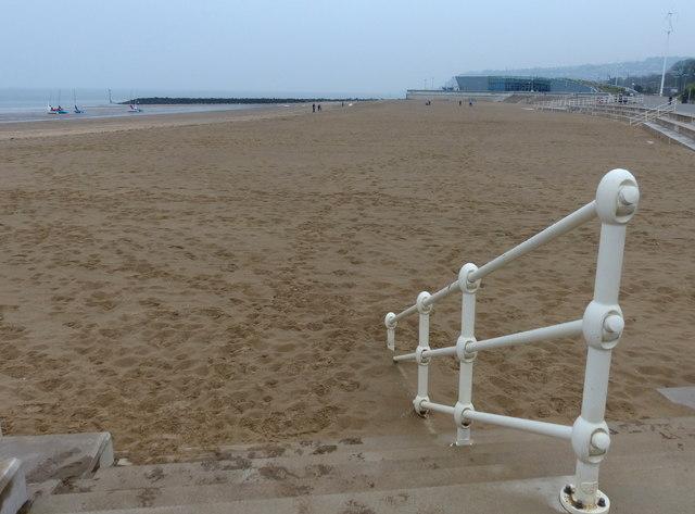 Beach at Colwyn Bay