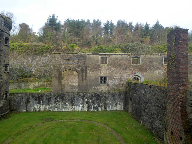 View across exercise yard, Cork City Gaol