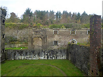 W6572 : View across exercise yard, Cork City Gaol by Robin Webster