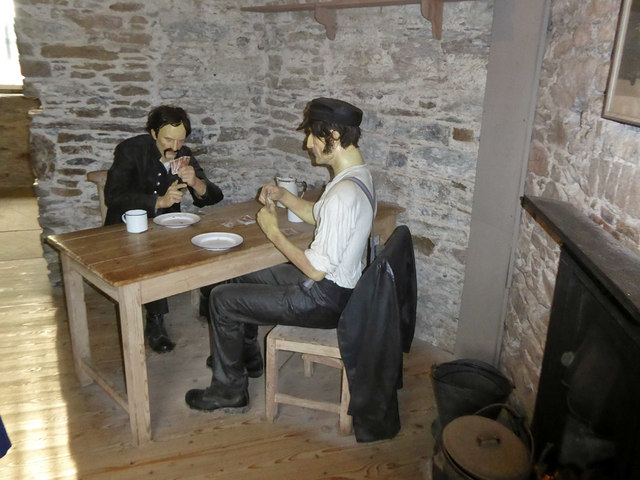 In the warder's room, Cork City Gaol