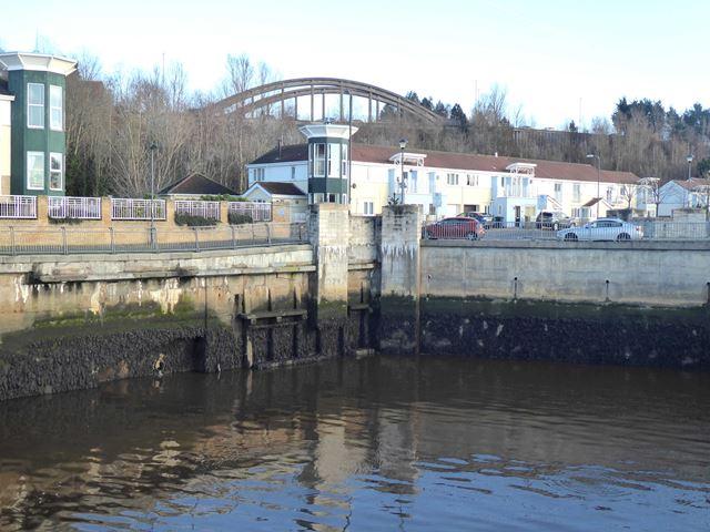 Corner of the old Market Dock