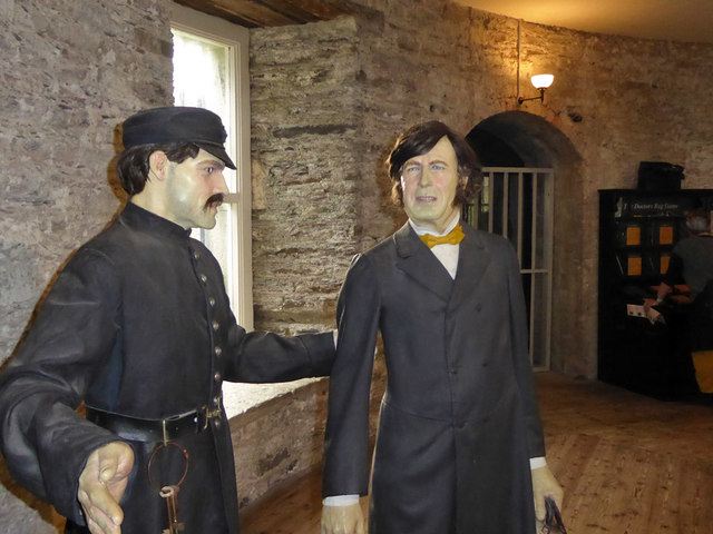 Dr. Beamish pays a visit - Cork City Gaol