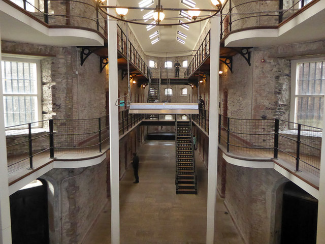 West wing, Cork City Gaol - inside