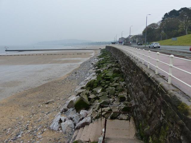 West promenade at Rhôs-on-Sea