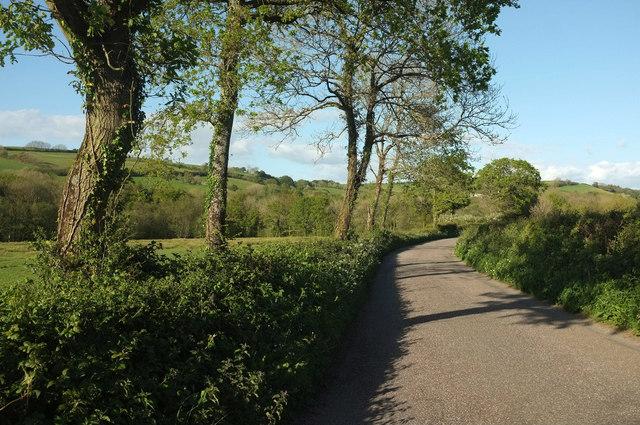 Lane from Marsh Cross