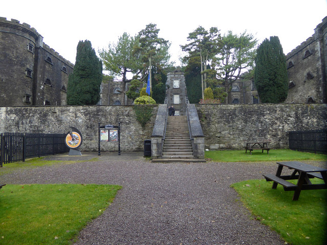 View from gatehouse, Cork City Gaol