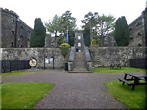 W6571 : View from gatehouse, Cork City Gaol by Robin Webster