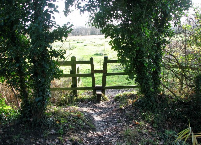 Access to Marston Marsh from Marston Lane