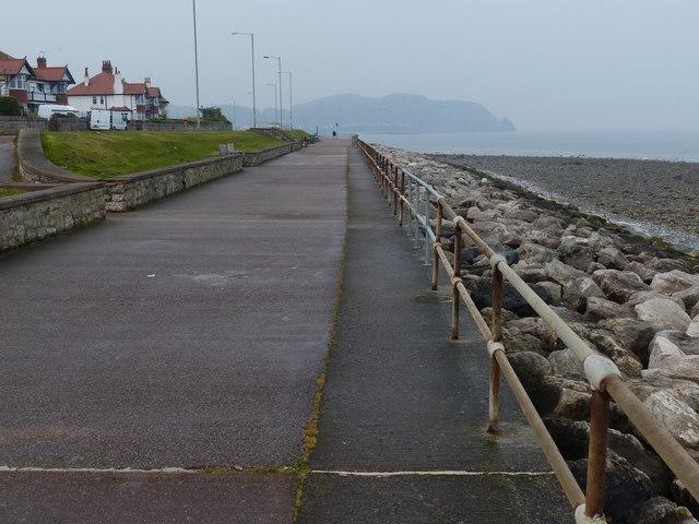 Wales Coast Path at Rhos Point