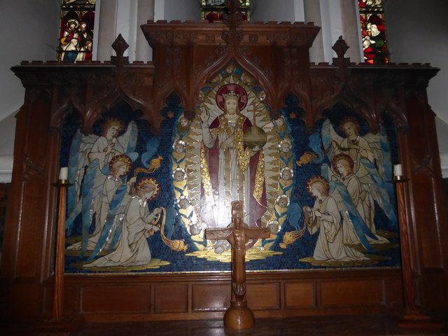 St Peter's Church: reredos