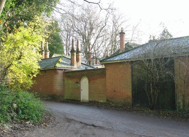 Marston Lane past Harford Hill Cottage