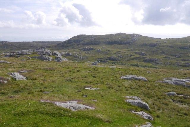 Ben Hogh seen from Beinn Tioraidh