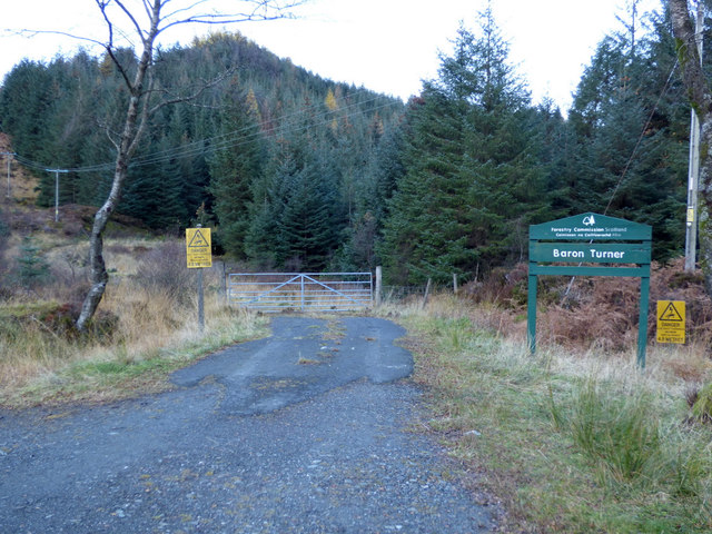 Baron Turner Forest access point