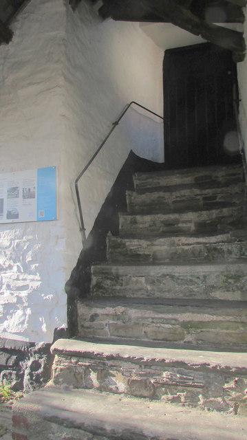 Steps to school room, Swimbridge
