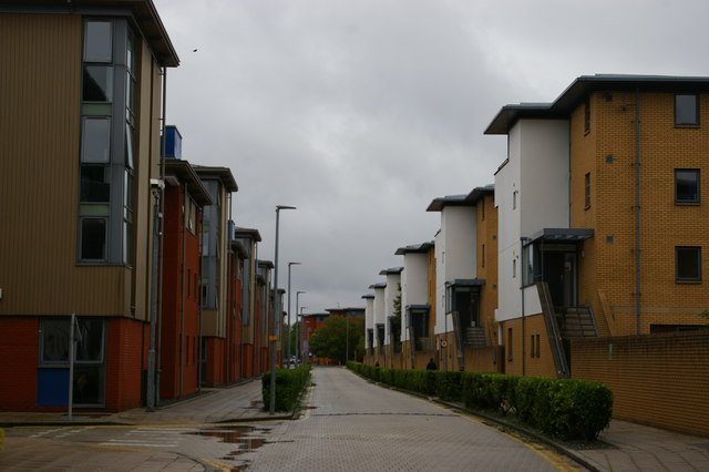 University of Lincoln: student accommodation, Campus Way
