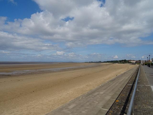 Sandy beach, Burnham on Sea