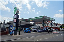 ST3050 : Service station on Berrow Road, Burnham-on-Sea by JThomas