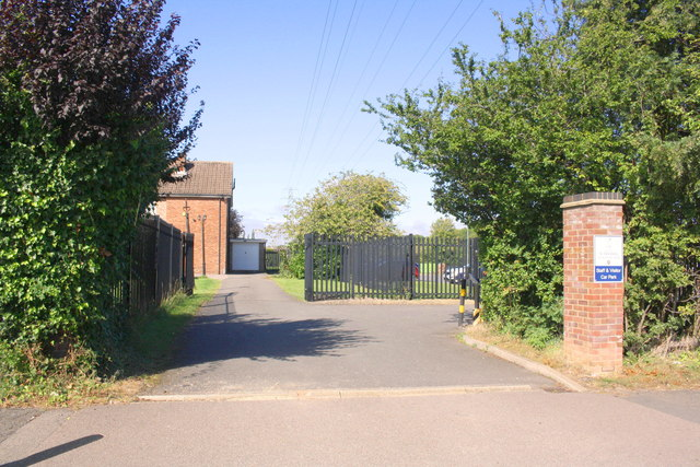 Entrance to St Brendan's Catholic Primary School from Beanfield Avenue