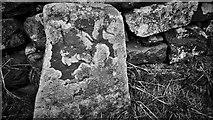 NZ5812 : Moor Edge Stone by Mick Garratt