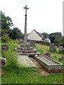 SO4918 : Preaching Cross, Welsh Newton by Eirian Evans