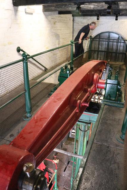 Etruria Industrial Museum - beam engine