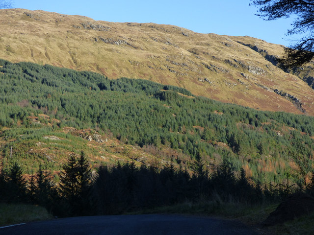 North side of Glen Finart