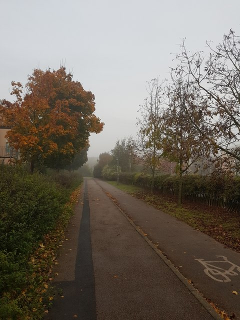 Science park cycle path