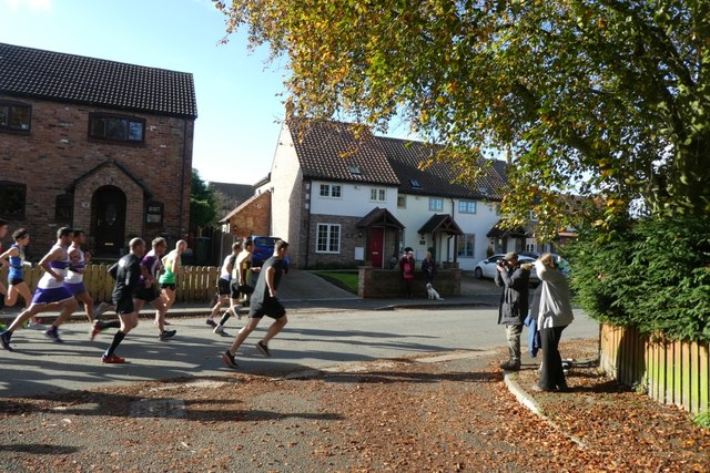 Start of the Wistow 10k