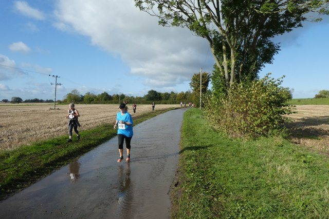 Running on Lordship Lane